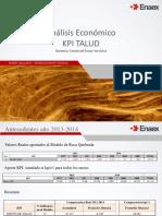 Analisis Economico KPI Talud-Para Propuesta Hidrex