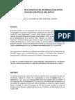 ESTUDIO TEÓRICO–PRACTICO DE UN PÉNDULO BALÍSTICO EN CHOQUES ELÁSTICO E INELÁSTICO