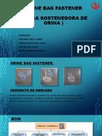 Urine Bag Fastener