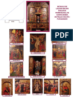 Retaule de l'Altar Major de la Esglesia Parroquial de Santa María de Palau -solità i Plegamans