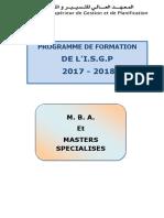 Mba Et Master
