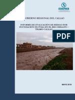 4567 Informe de Evaluacion de Riesgo Por Inundacion Fluvial en El Rio Chillon Tramo Callao