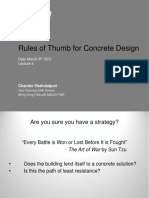 CM Prep Course - Lecture 4 ~ Concrete