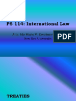 International Law - Part III