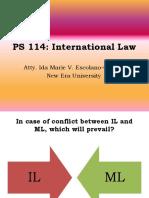 International Law - Part II