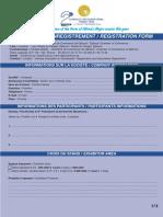 Formulaire Inscription Foire Edition 2