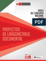 4. Proyectos de Largometraje Documental
