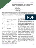 Self-Adaptive Multi-Population Jaya Algorithm based Reactive Power Reserve Optimization Considering Voltage Stability Margin Constraints