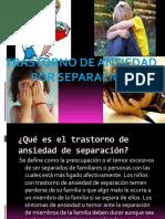 Trastorno de Ansiedad por Separacion