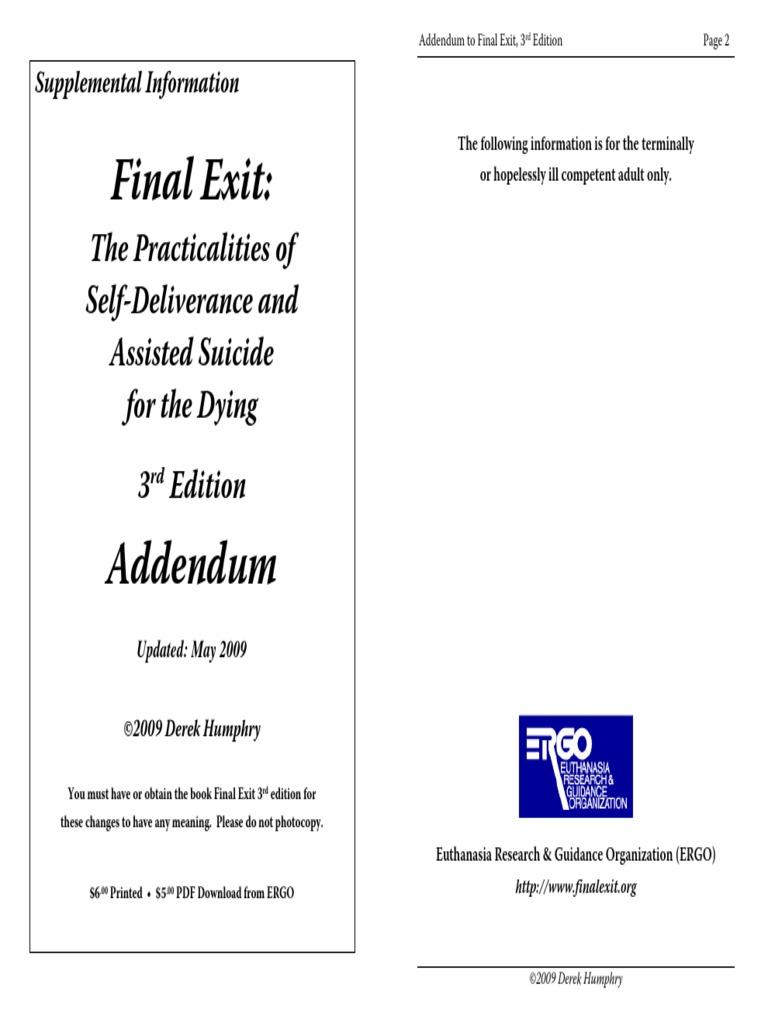 Final Exit Pdf