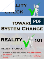 BSBP Reality Check Updated
