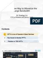 Guangyi Liu China Mobile Large Bandwidth and High Reliability Transmission Technologies