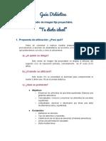 Guía Didáctica (Medio Tic 1)
