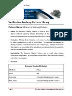 VAPL Resource Sharing Pattern