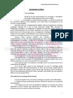 34 - Apunte Sociologia Catedra b y c - Aporte Ueu