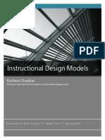 instructional design models comparison paper