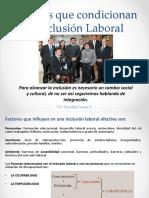 Factores Que Influyen en La Inclusión Laboral