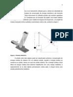 Relatório Pêndulo Balístico - Fe