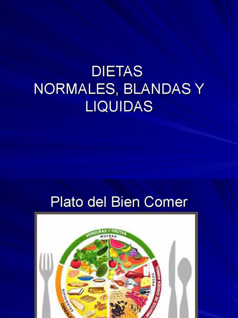 Dieta Normal Blanda y Liquida Junio 2008