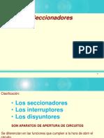 Aparatos de Maniobra Materiales y Laboratorio - 5 Seccionadores Interruptores,