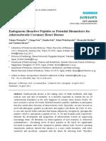 Endogenous Bioactive Peptides