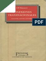 Ulf Hannerz - Conexiones Transnacionales - Cultura, Gente, Lugares