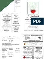 St Andrews Bulletin 061718