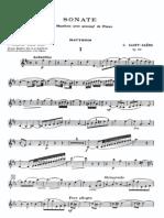 Saint-Saens - Oboe Sonata