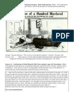 Triangle Shirtwaist Fire Documents