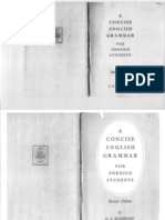 C. E. Eckersley -- A Concise English Grammar for Foreign Students