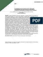 A Trajetória Da Fenomenologia No Serviço Social Brasileiro - Considerações Preliminares Para Uma Revisão Do Pensamento Fenomenológico Na Formação Profissional Do Serviço Social Do Brasil