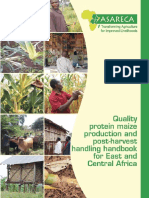 Quality Protein Maize Production and Post Harvest Handling Handbook for East and Central Africa