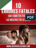 10 Errores Fatales Que Cometen Todas Las Mujeres en La Cama Esperanza Cruz-PDF