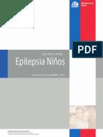 GPC Epilepsia Niños