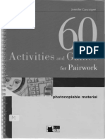 60 Activities and Games for Pairwork.pdf