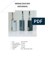 Innokin Itaste Mvp User Manual