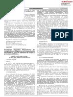 RESOLUCIÓN DIRECTORAL N° 0010-2018-MINAGRI-SENASA-DSV