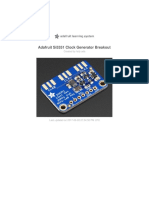 Adafruit Si5351 Clock Generator Breakout