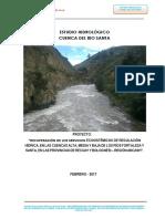Estudio Hidrologico Cuenca Del Rio Santa