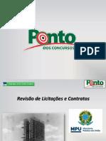 Revisão Para a Câmara Dos Deputados e MPU - Licitações e Contratos