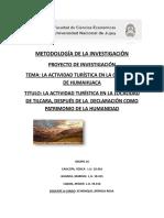 Pro Yec to de Investigacion