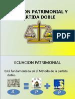 Ecuacion Patrimonial y Partida Doble