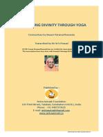 Dsicovering Divinity Through Yoga