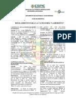 Reglamento Para La Categoría _laberinto_ Club de Robótica(1)