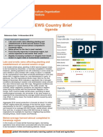 GIEWS FAO Country Brief
