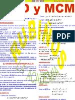 Mcd y Mcm de Polinomios -Maximo Comun Divisor y Minimo Comun Multiplo