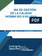 Contenido Del Curso ISO 9001 2015