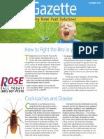 Rose Pest Solutions Summer Gazette