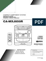 MXJ850 JVC SM