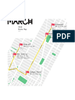 2018 NYC LGBT March Route Map